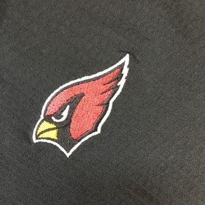 Reebok CARDINALS POLO (official NFL Polo : Large)